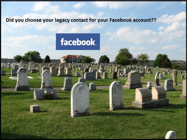 What happens to your facebook account after you die