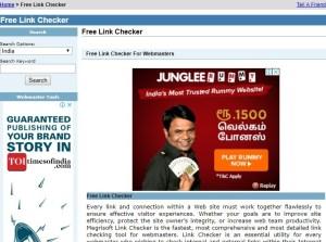 Free link checker - Top free broken link checker sites