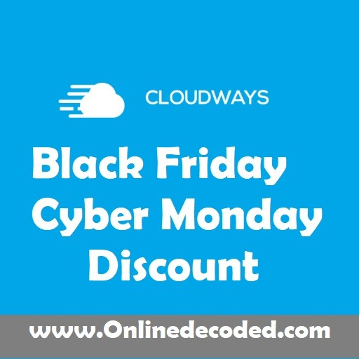 Cloudways Black Friday Discount