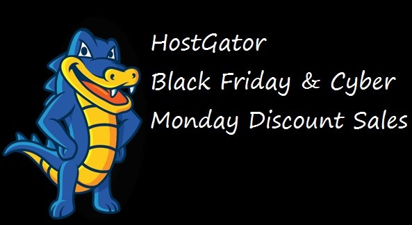 HostGator Black Friday Discount Coupon