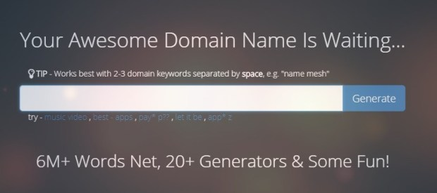 Namemesh - Top Best domain name generators
