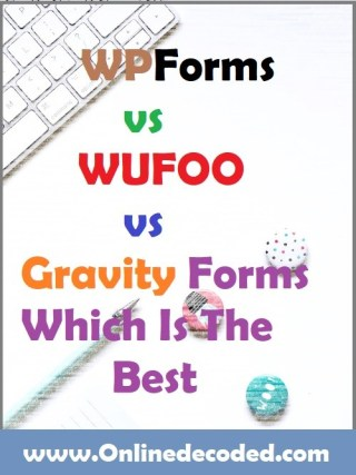 WPForms vs Wufoo vs Gravity Forms