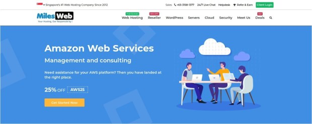MilesWeb Review: Best Cloud Hosting Company in Singapore 1