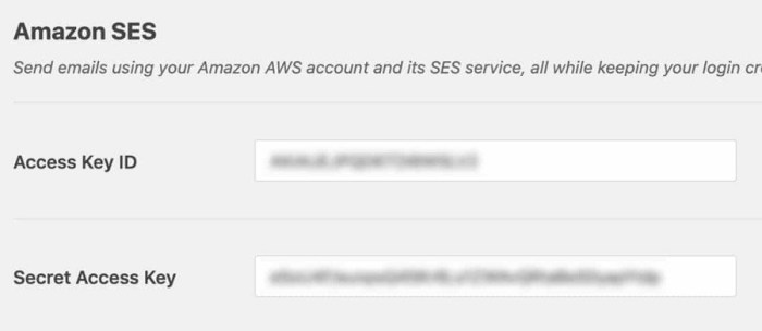 Amazon-SES-access-key