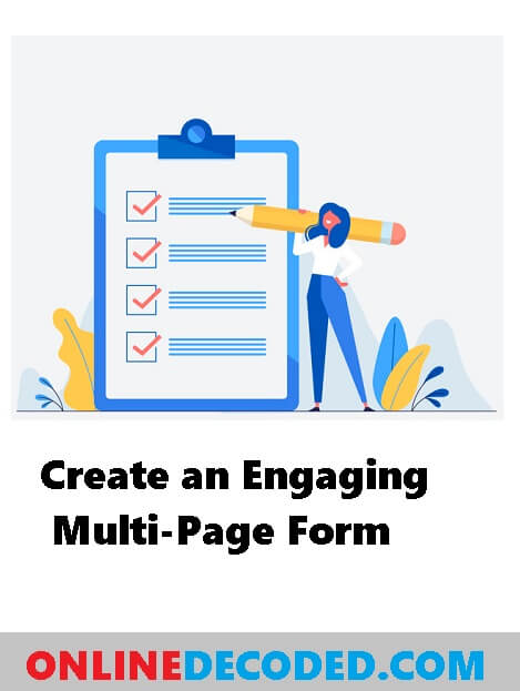 How To Create an Engaging Multi-Page Form in WordPress – 5 Easy Steps
