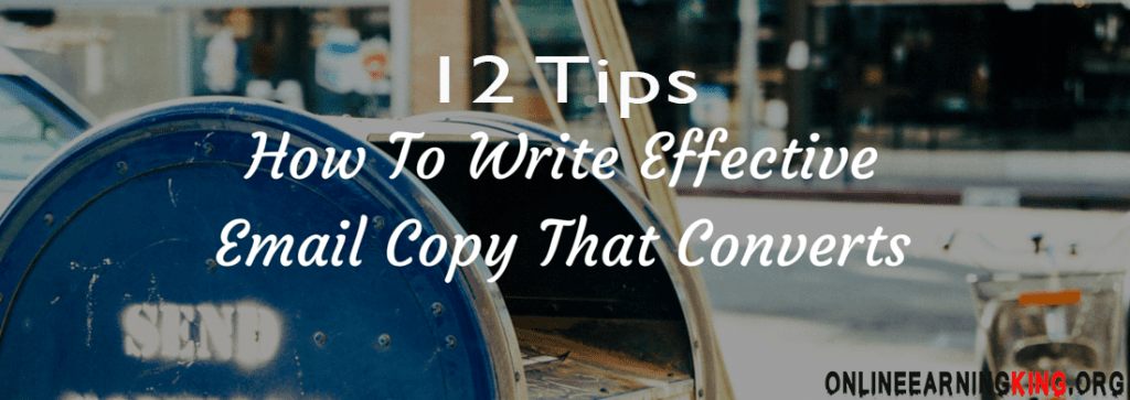 Tips To Write Email That Converts