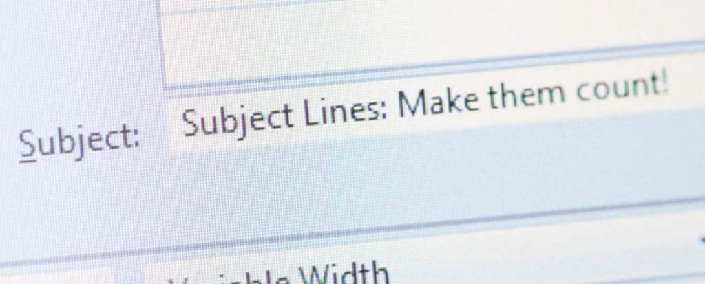 eye catching email subject