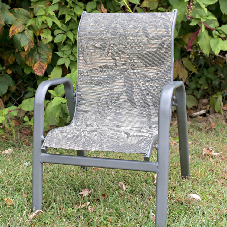 how to replace fabric on a sling chair