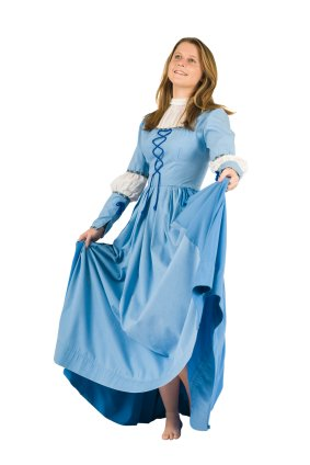 This simple Renaissance peasant girl costume can be made out of broadcloth.  sc 1 st  Online Fabric Store & You can make a Renaissance Costume - OnlineFabricStore.net Blog