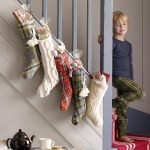 On the 7th day of fabric Christmas..stockings were hung