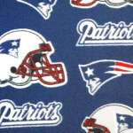 NFL Fabric for the BIG game--New England Patriots vs. New York Giants