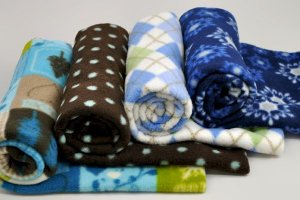 Fleece for baby clothes and blankets