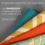 $5 Off Fabric Coupon Code