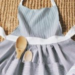 DIY Hostess Apron Tutorial by Style Me Pretty