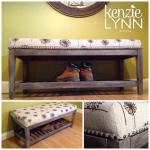 Dandelion Bench Makeover