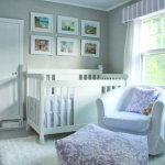 Purple & Gray Nursery Inspiraion