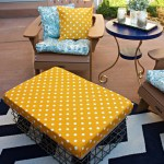 Fall DIY Outdoor Ottoman