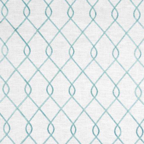Suburban Home Rico Aqua Fabric