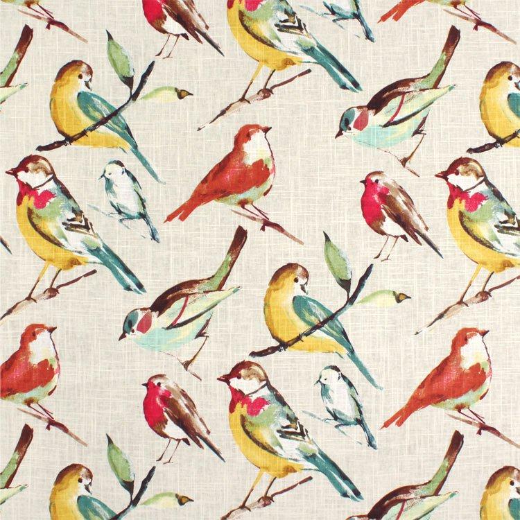 Richloom Birdwwatcher Meadow Fabric