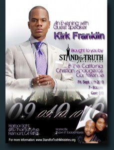 Kirk Franklin and Stand For Truth- The California Apologetics Conference