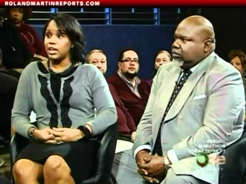 Roland Martin Talks With Bishop TD Jakes and His Daughter Sarah Henson About Her Teenage Pregnancy(Video)