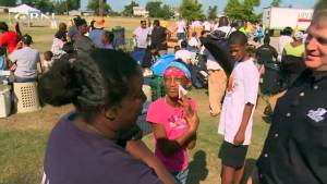 Operation Blessing Food Distribution (Video)