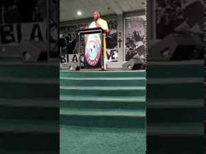 """Pastor Jamal H. Bryant. Pastor preaching on """"Removing Confederate Statues"""". 2017 08 20"""
