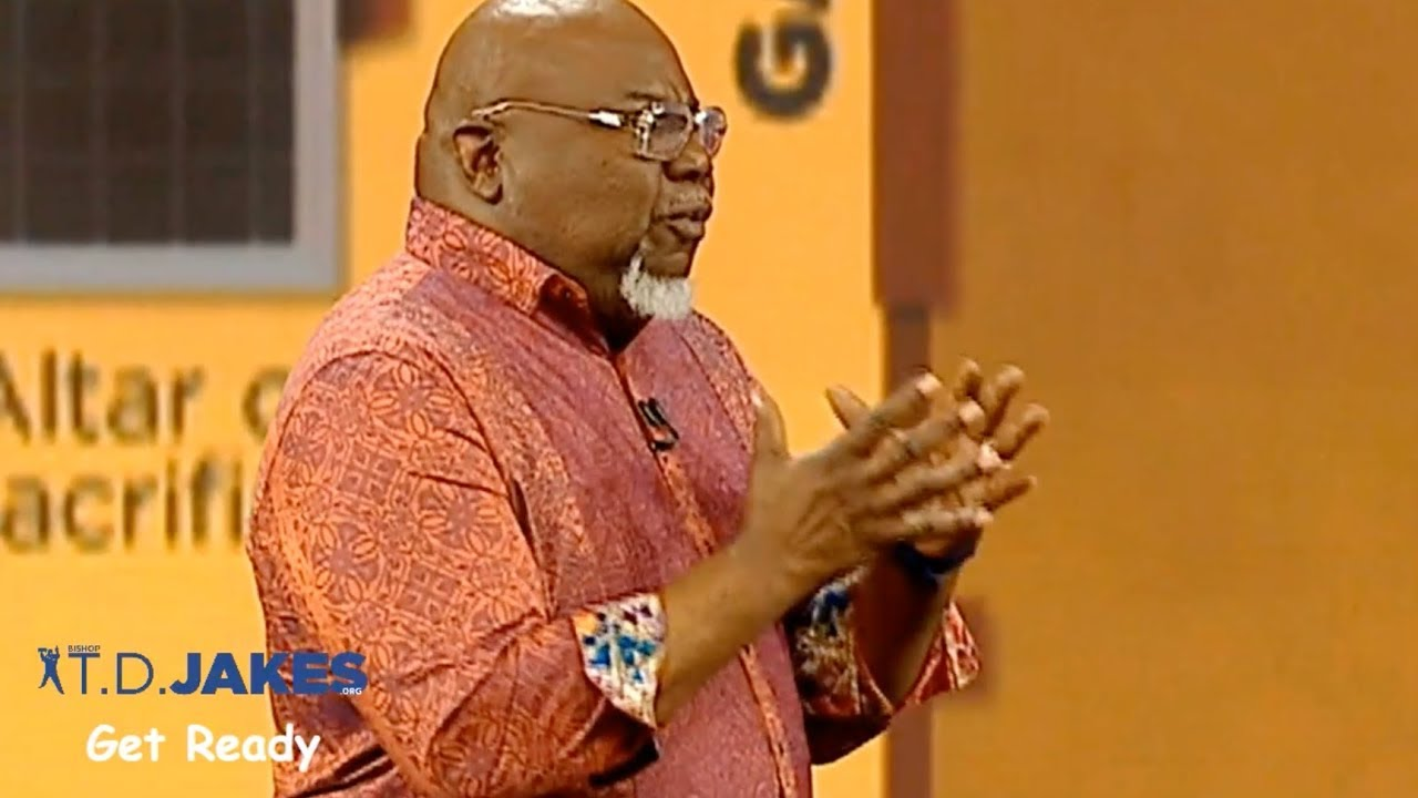 The Golden Lampstand TD Jakes – The Potter's House Aug 12