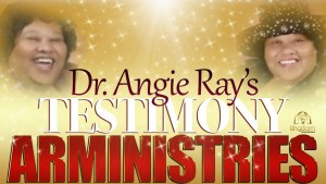 Dr. Angie Ray's testimony! How she received The Holyghost.