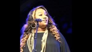 Psalmist Tasha Lockhart – singing