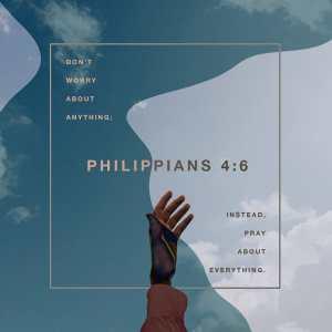Philippians 4:6 ESV
