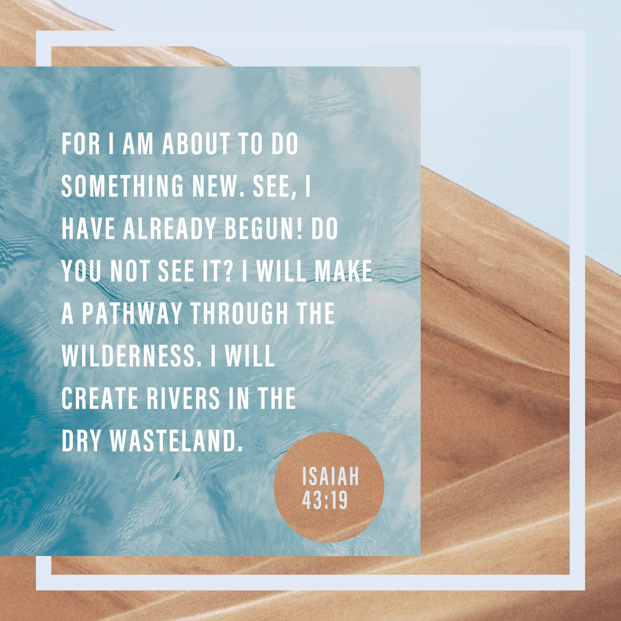 Isaiah 43:18–19