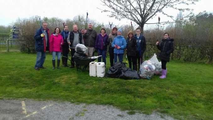 Great British Spring Clean 2019 - Sweyne Park