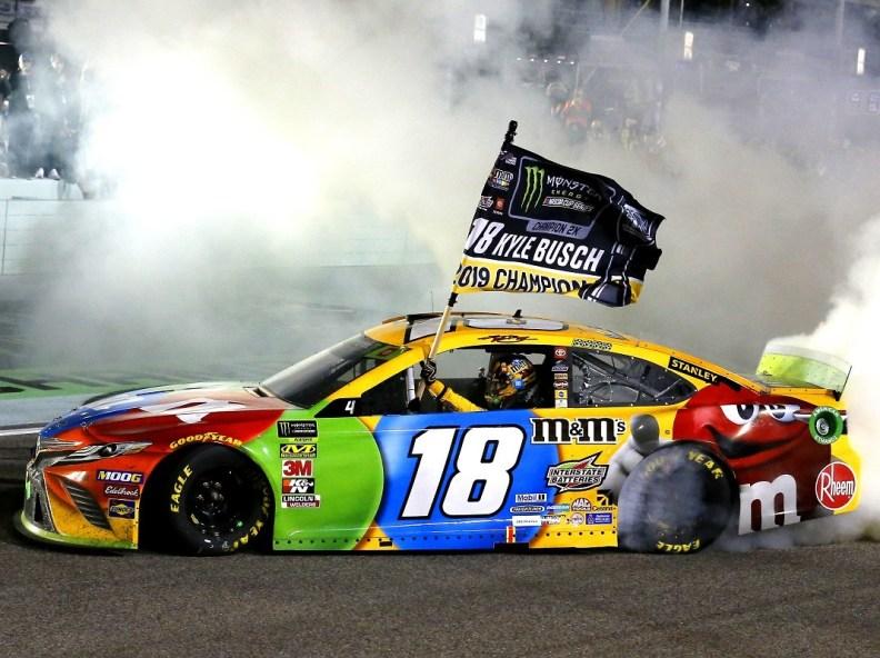 Kyle Busch NASCAR championship