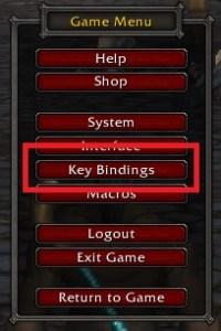 WoW Key Bindings