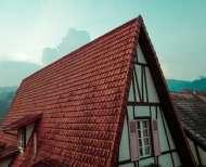 brick roof