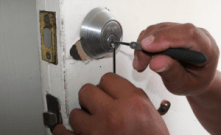 opening a lock