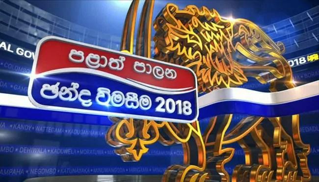 Image result for election results sri lanka
