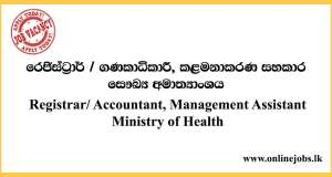 Accountant,-Management-Assistant---Ministry-of-Health