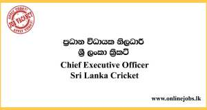 Chief Executive Officer - Sri Lanka Cricket
