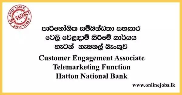 Customer Engagement Associate