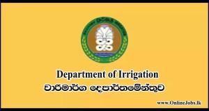 Department of Irrigation