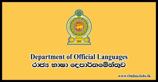 Department of Official Languages