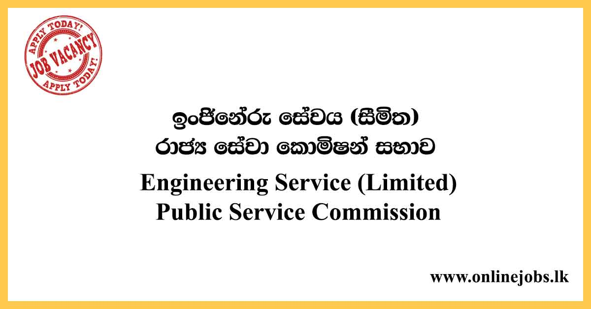 Engineering Service (Limited) - Public Service Commission