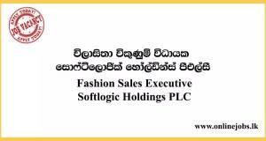Fashion Sales Executive - Softlogic Holdings PLC