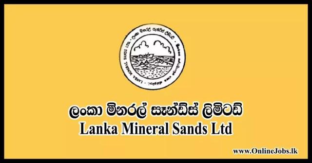 Lanka Mineral Sands Ltd