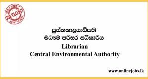 Librarian Vacancies - Central Environmental Authority