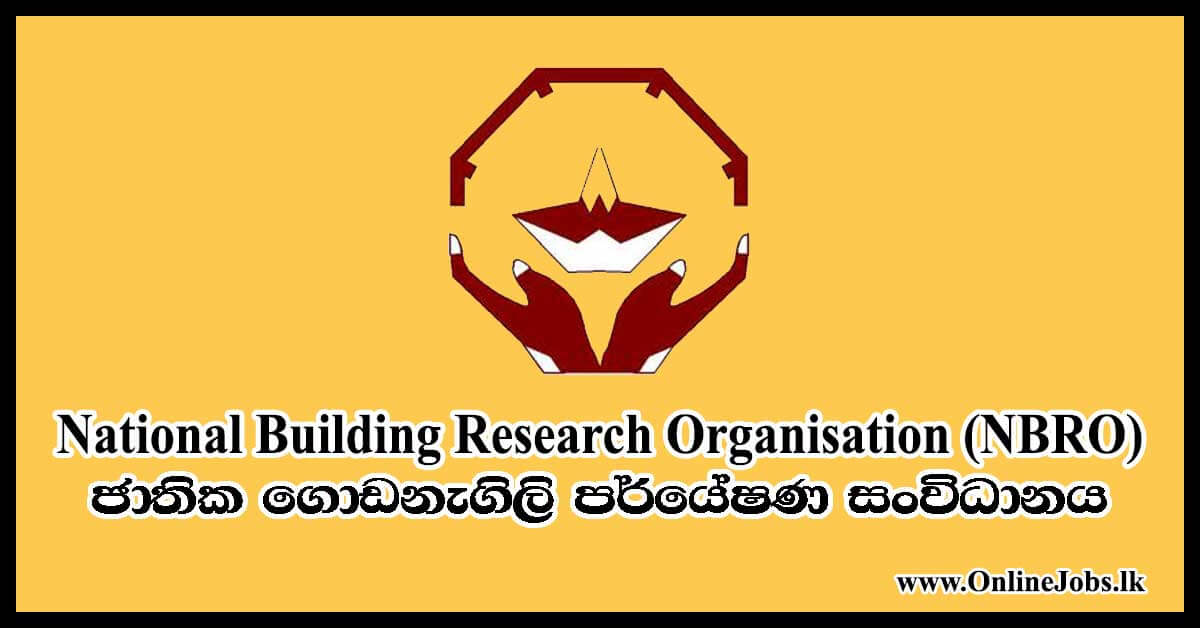National Building Research Organisation (NBRO)
