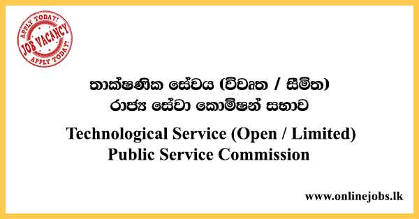 Technological Service (Open / Limited) - Public Service Commission