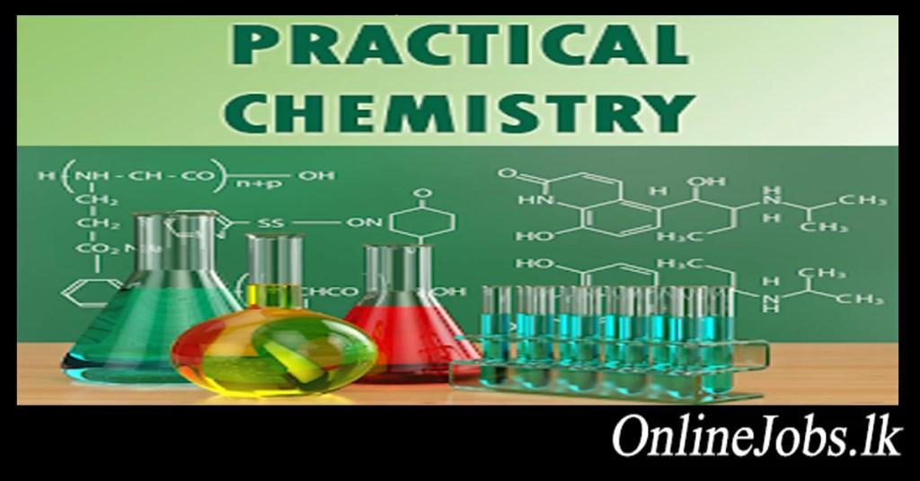 Sri Lanka A/L Chemistry all Practicals - OnlineJobs lk
